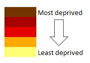 Least and most deprived